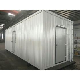航空航天船舶燃气发电机测试台压缩机集装箱式隔音罩