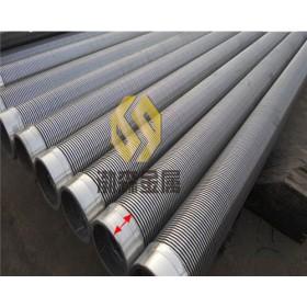 高精度梯形丝绕丝过滤管条缝管