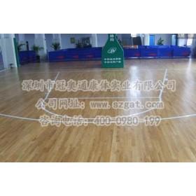 单龙骨运动木地板系统——深圳冠奥通