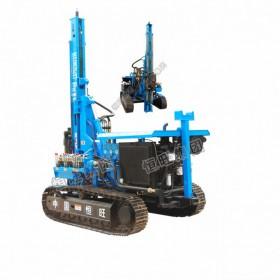 HG-300L履带式光伏打桩机 螺旋打桩机 小型螺旋钻机