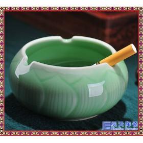 创意不带盖客厅茶几烟灰缸可爱潮流多功能广告烟缸