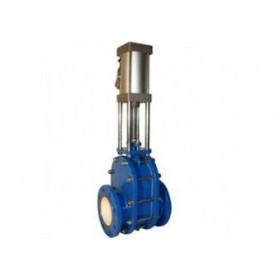 NMZ673H-10C/NMZ73H-10C气动耐磨闸板阀
