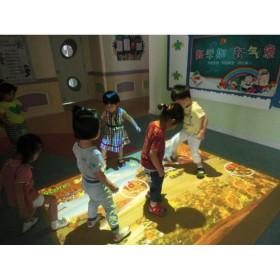"""游戏化教学设备3D互动游戏课堂""""魔幻地面"""""""