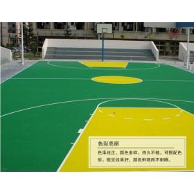 学校篮球场承包 丙烯酸篮球场施工 厂家直销丙烯酸球场材料