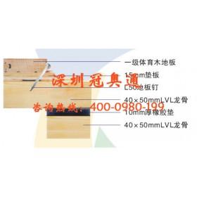 体育木地板是优质的室内运动地板材料——冠奥通