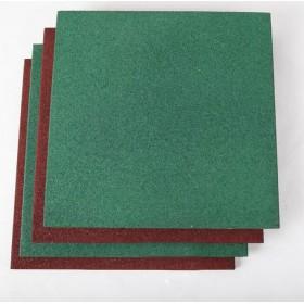 健身房力量区高密度橡胶缓冲地板天然橡胶安全地垫EPDM颗粒