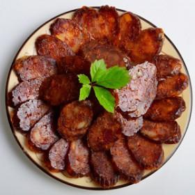四川腊肠 挂炉烤肠 休闲小枣肠增强弹脆性