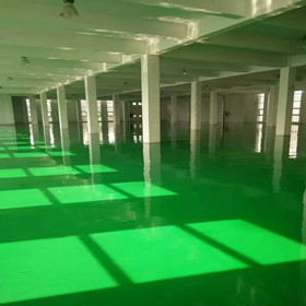 济南长清服装加工车间做环氧树脂地坪漆选什么方案