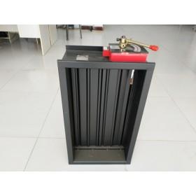 消防认证高温排烟防火阀 电动排烟防火阀