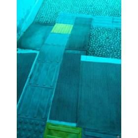 毕节市优质橡胶盲道砖款号