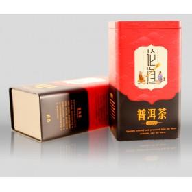山东制罐厂家 定制加工方形茶叶铁罐包装 通用茶叶礼品铁盒