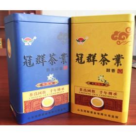 茶叶方形铁罐定制 山东河北马口铁制罐专业厂家 外贸铁盒批发