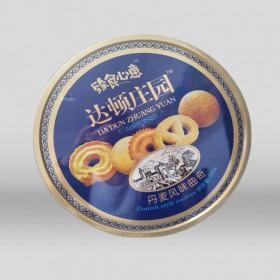 山东河北铁罐厂家 加工定制圆形马口铁月饼礼盒 食品铁罐