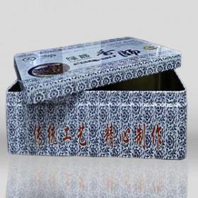 山东铁盒包装厂家供应香肠马口铁盒包装 礼品包装盒定制批发