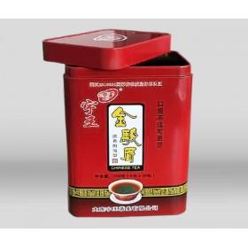 红茶绿茶马口铁盒包装 通用茶叶马口铁包装盒定制批发