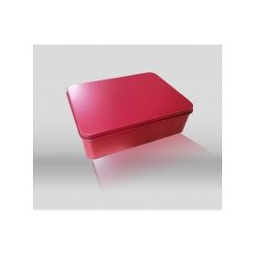 铁盒包装厂家供应红色婚庆食品礼品马口铁盒包装