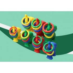 幼儿园批发各种益智玩具 投掷套圈 童车 独木桥 协力车