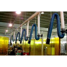 废气治理工程,多工位焊烟粉尘收集系统
