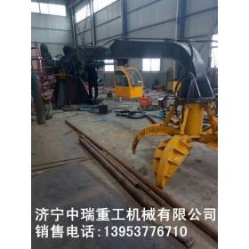 济宁中瑞厂家直销 挖机专用废钢抓手 支持定做