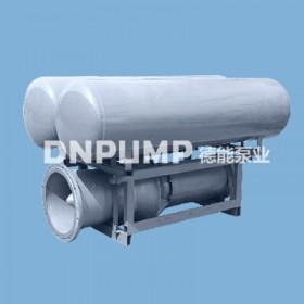 水库河面漂浮轴流泵_浮筒安装水泵