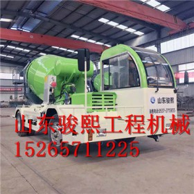 阳泉混凝土搅拌车厂家直销 水泥自动上料搅拌运输车