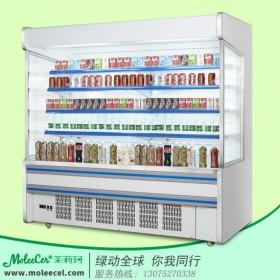 超市冷柜哪个品牌好2米内机A款风幕柜冷藏柜价格广州厂家