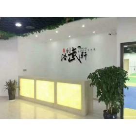 温州浩创国术馆 少年绿色武术课 武术散打培训