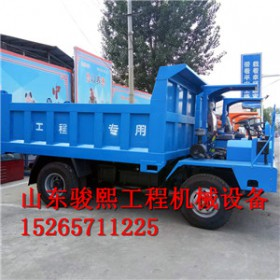 咸宁农用四驱柴油水田转运运输车厂家 拖拉机自卸运输车
