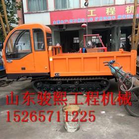 宜昌农用橡胶履带自卸车厂家,果园橡胶履带运输机