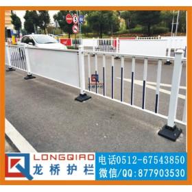 嘉兴广场隔离护栏 嘉兴广场 道路 广告护栏 龙桥专业订制