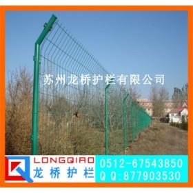 苏州护栏网双边丝 圈地护栏网 浸塑铁丝网 龙桥厂家生产
