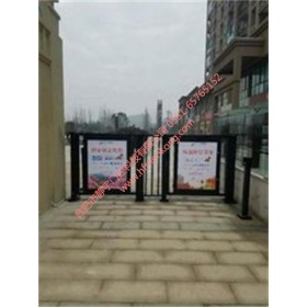 安徽静宇特价供应电动广告门 小区通道门 商业区人行通道门