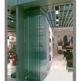 供应优质玻璃自动折叠门