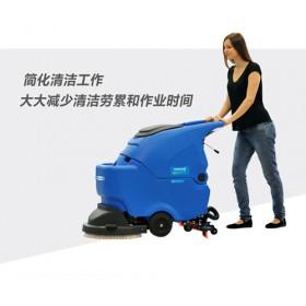 哪有便宜的洗地机容恩R50B手推多功能拖地机苏州泰州常州正品