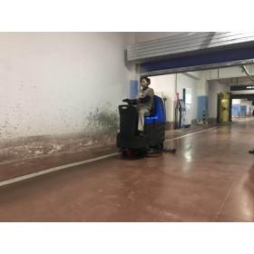 商业用拖地机容恩R125BT85全自动自驱洗地机杭州上海苏州