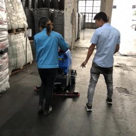 扫地洗地吸干机厂家直销昆山常熟太仓工业拖地机容恩R65RBT