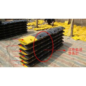 南宁铸钢减速带出厂价减速带规格尺寸