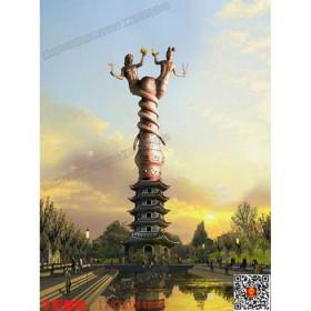 华阳雕塑 女娲雕塑 贵州广场雕塑 贵州地标性雕塑