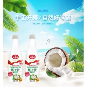大排档椰子汁饮料1.25L招商加盟