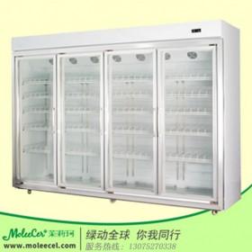 冰柜品牌哪个好?LG-4四门一体陈列柜超市冷柜饮料展示柜
