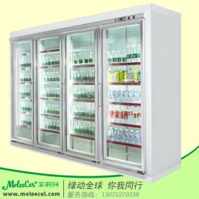 饮料展示柜品牌GHP-4实用款四门嵌入式拼装柜冷柜品牌哪个好