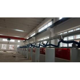 车间废气治理工程项目,多工位烟尘净化系统