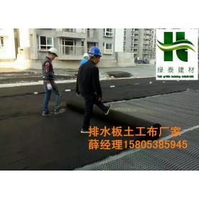 信阳1.2公分车库绿化排水板=种植阻根板