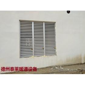 铝合金双层防雨防沙调节百叶窗LBC-D-FT-Ⅱ-W