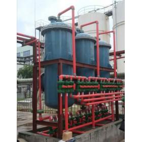 垃圾渗滤液DTRO膜后氨氮达标处理系统
