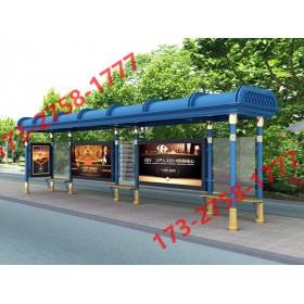 欧式罗马柱候车亭 户外仿古公交站台 智能生产厂家