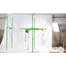 楼房沙土直滑式吊运机价格-四柱建筑小吊机批发-东弘