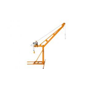 伸缩微型室外吊运机价格-600公斤建筑小吊机销售