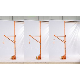 家用小吊机价钱多少?微型吊机安装视频提供指导