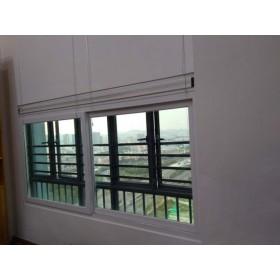 净化通风隔音窗加强三层玻璃居室通风隔音窗户